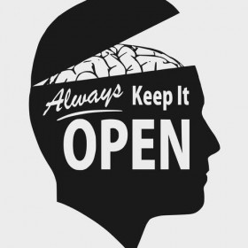 always keep it open