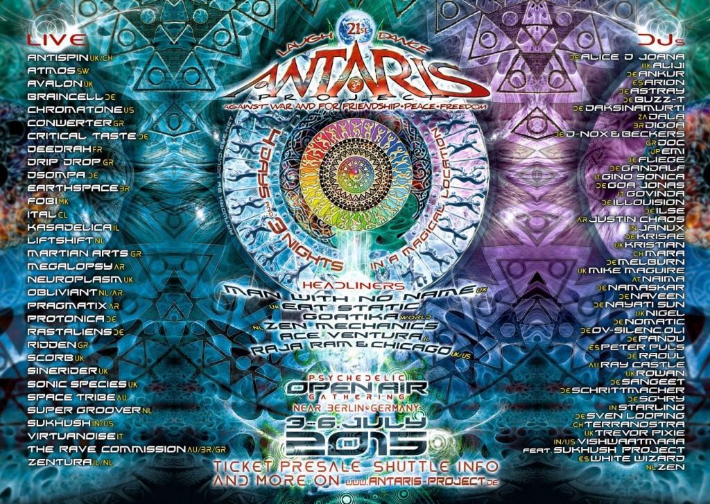 Antaris-lineup