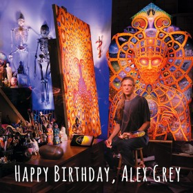 [creative] Happy Birthday Alex Grey (info and videos)