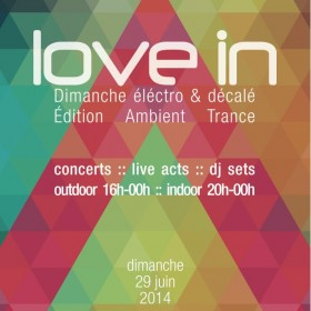 [event] Love in, Ambient Trance Edition (Paris)