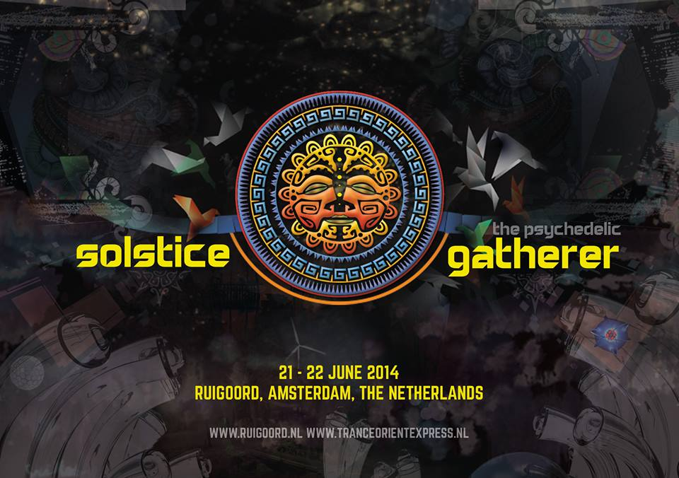 [festival] Solstice The Psychedelic Gatherer 2014 Lineup (Netherlands)