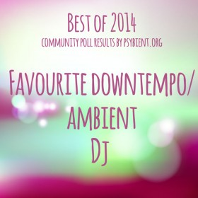 """Favourite """"downtempo/ambient dj"""" of the year 2014"""