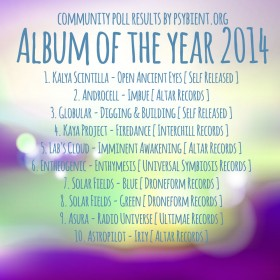 """Best """"Album"""" of the year 2014 (Results)"""