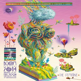 [festival] Boom Line Up 2014 – Chill Out Gardens (Portugal)
