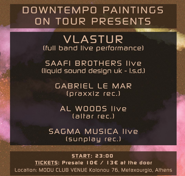 [event] downtempo paintings 9/12/2017- greece