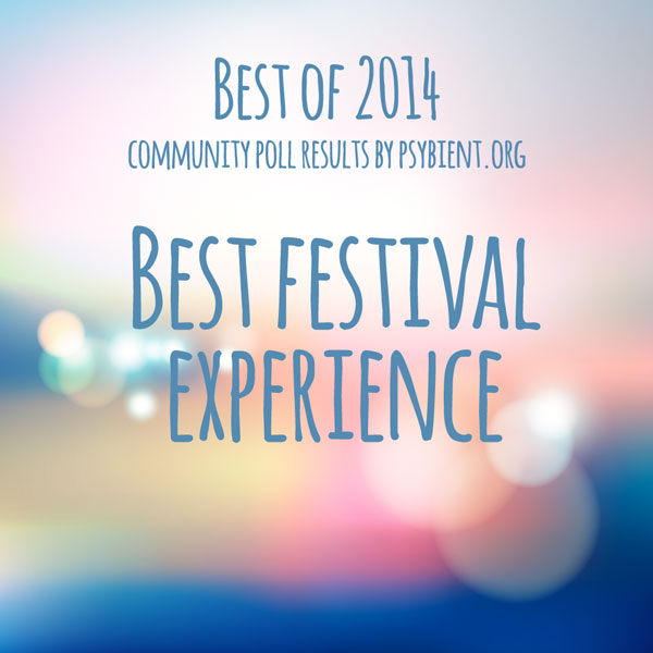 "Best ""Festival"" of the year 2014"