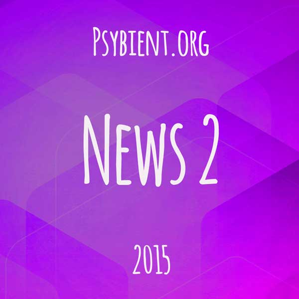 Psybient.org news – 2015 W2 (events, releases)