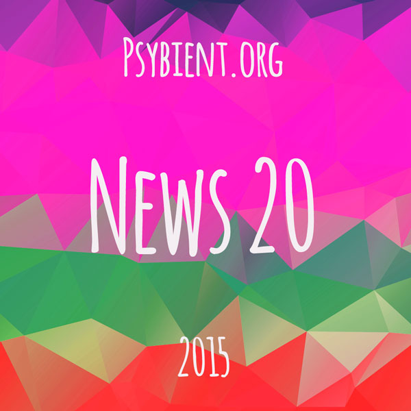 Psybient.org news – 2015 W20 (events, releases)