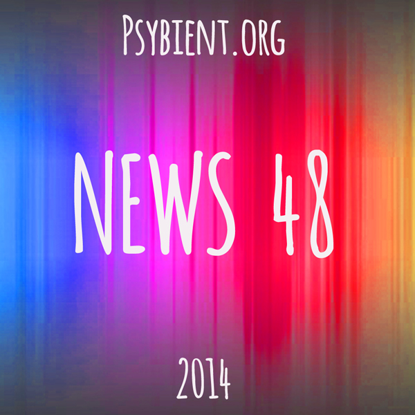 Psybient.org news – 2014 W48 (events, releases)