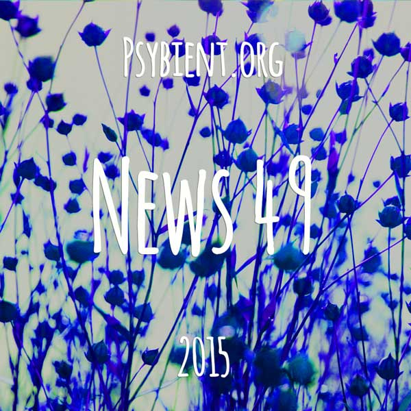 Psybient.org news – 2015 W49 (events, releases)
