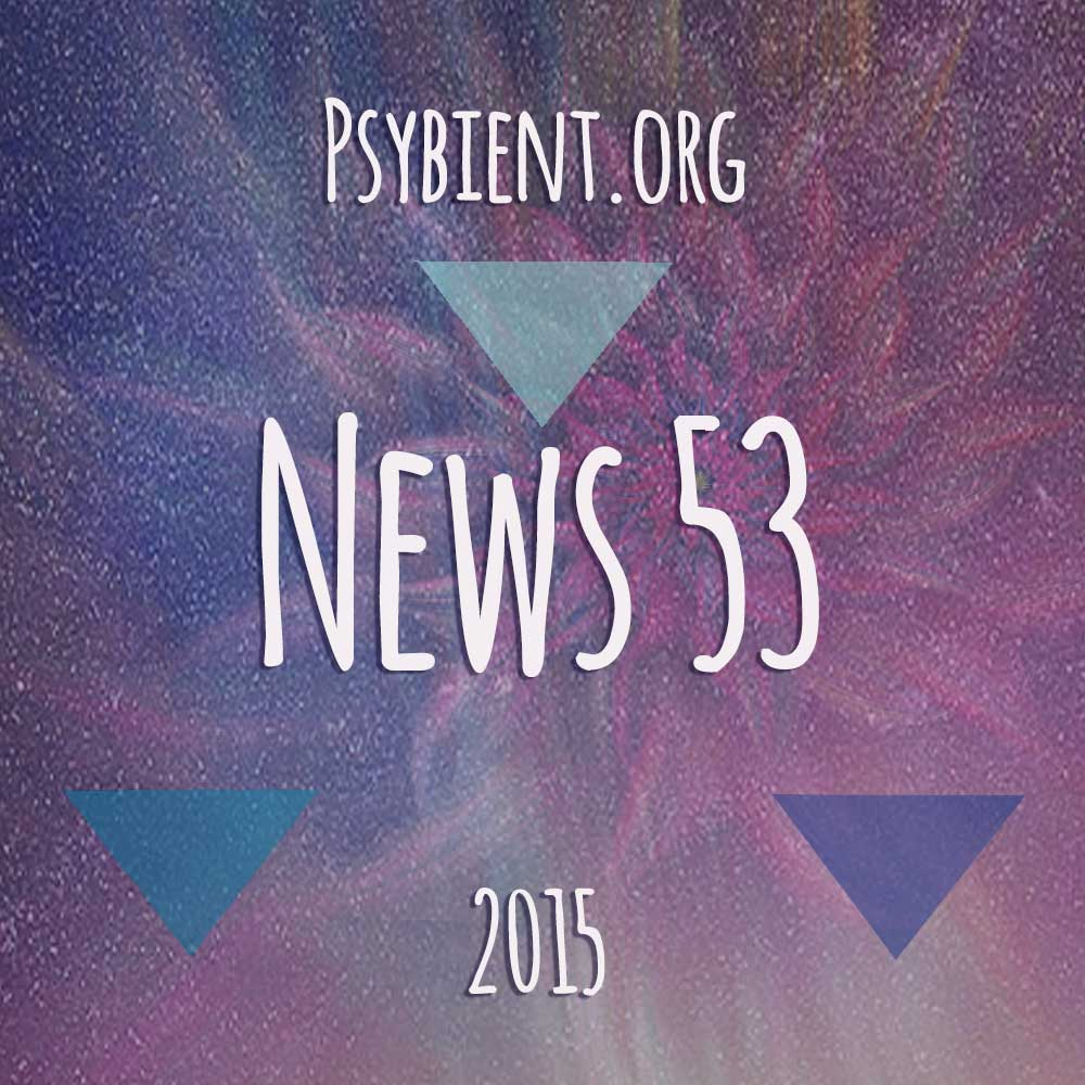 Psybient.org news – 2015 W53 (releases)