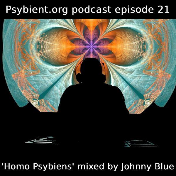 psybient.org podcast ep21 – Johnny Blue – Homo Psybiens