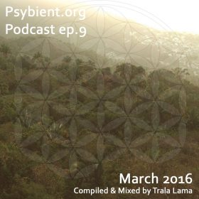 psybient.org podcast – episode 09 – March 2016 mixed by Trala Lama
