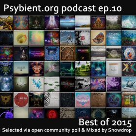 psybient.org podcast – episode 10 – Best of 2015 mixed by Snowdrop