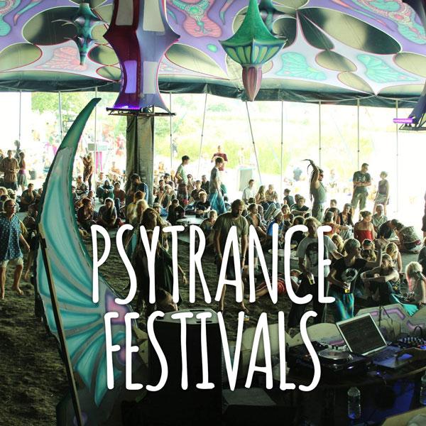 Psytrance festivals 2017