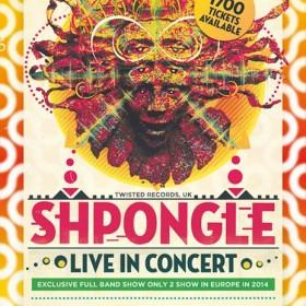 [event] Shpongle (live concert) & Juno Reactor @ Brussels