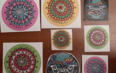 new VINYL stickers pack (7th anniversary edition)