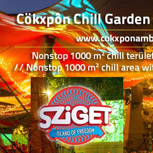 [festival] Cökxpôn chillout stage at Sziget festival 2014 – lineup